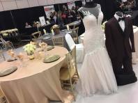 Decor: Devine Wedding Design | Gown: Sew Stylish Wedding Works | Tux: Collins Formalwear