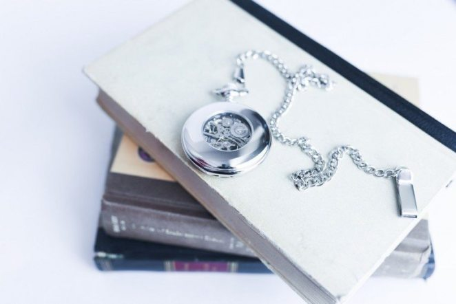 MECHANICAL  POCKET WATCH  $61 Engraved
