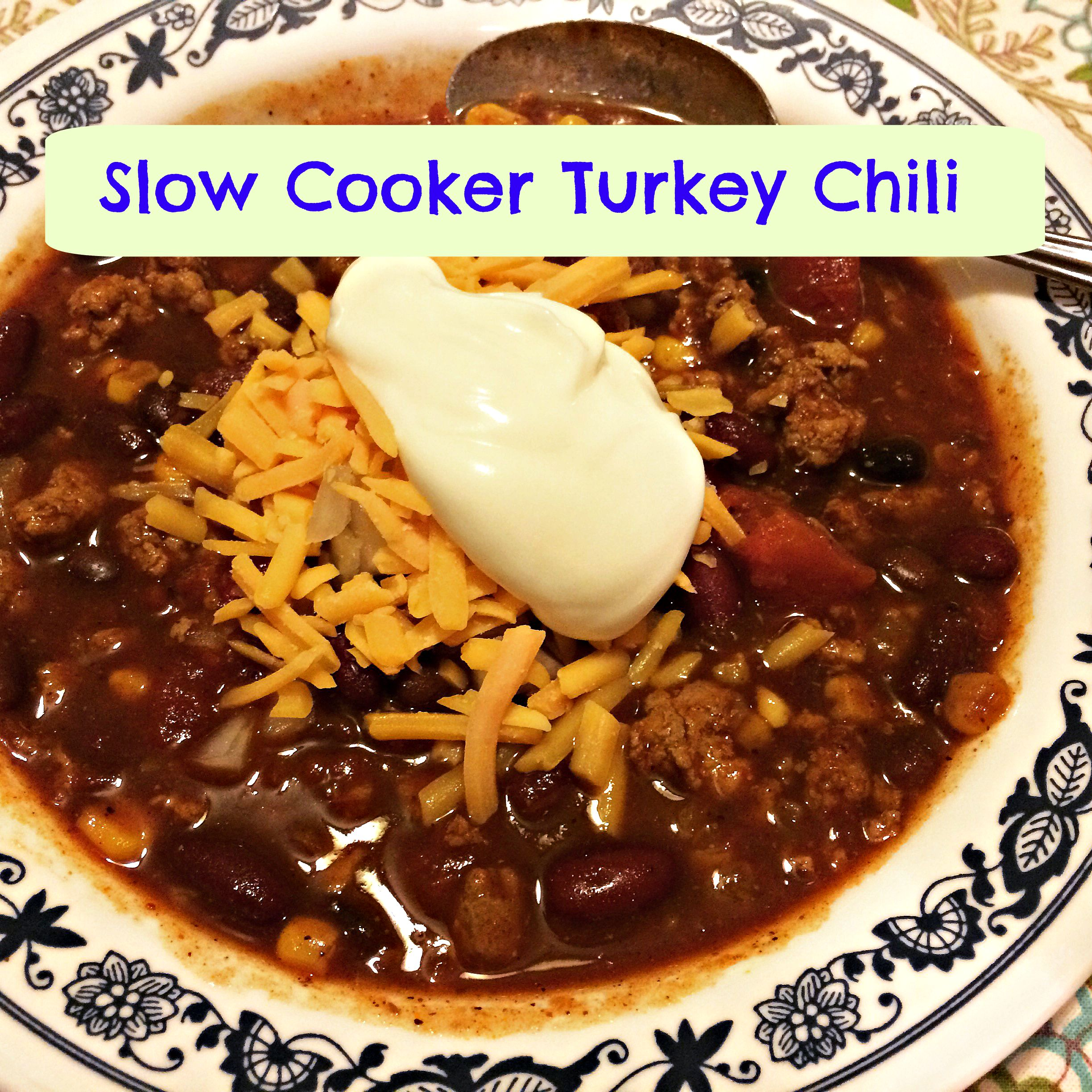 ... turkey chili makes an appearance every fall and winter and is the