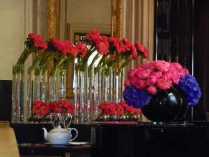 Flowers by Jeff Leatham of FS Paris fame