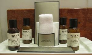 Le Labo's Rose 31 fragrances at the Fairmont Monte Carlo, Monaco