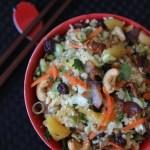 paleo pineapple fried cauliflower rice