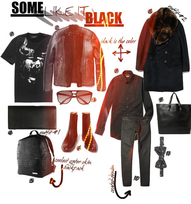 some_like_it_black_givenchy_lanvin_balmain_burberry_coat_minotaur_dior_homme_logan_zane_crocodile_skin_backpack_fur_rabbit_sherling_coat_4