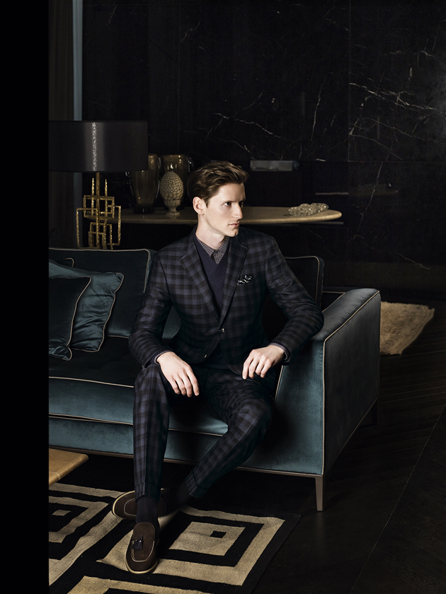 canali-fall-winter-2014-campaign-july-suit-checked-look01