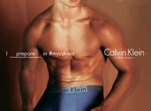 Hunk Model Mitchell Slaggert is the face of the new Calvin Klein spring 2016 campaign