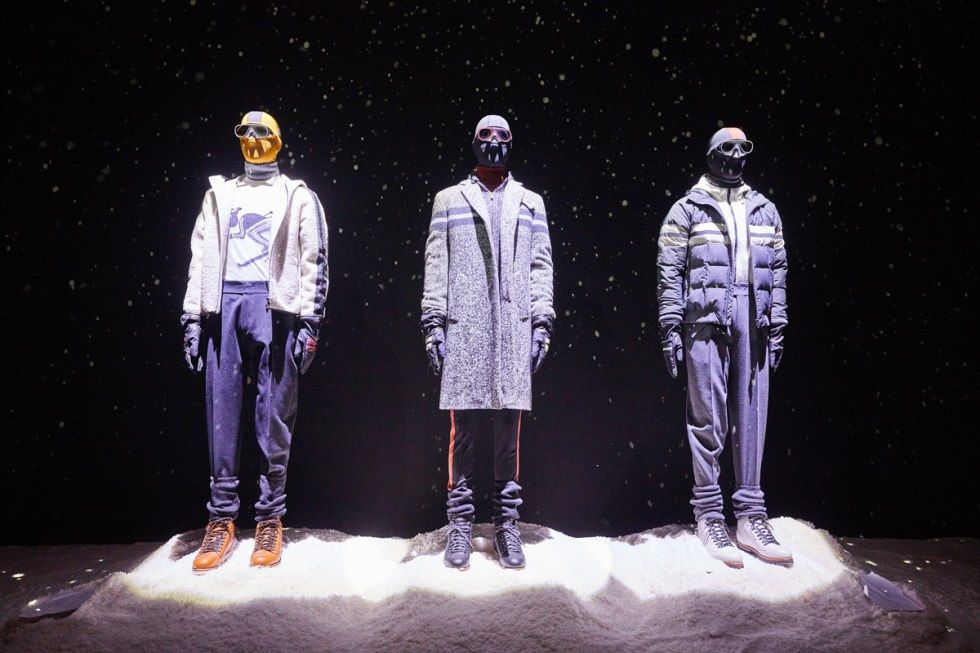 Z Zegna presentation at Pitti