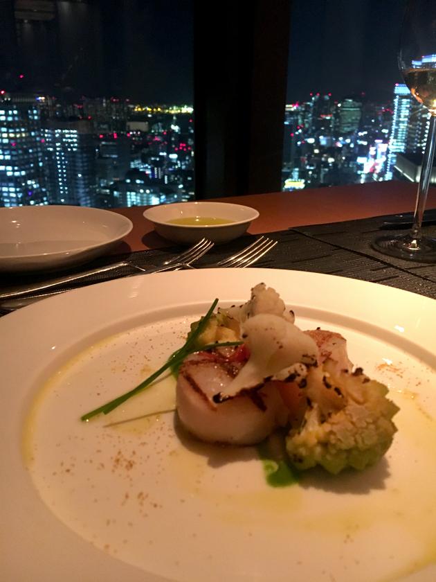 mandarin-oriental-tokyo-food-starter-prawn-scallops