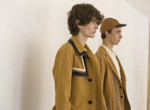 Loewe mens SS18 presentation in Paris showroom
