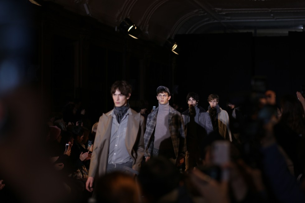 Finale at Officine Generale AW8 show in Paris