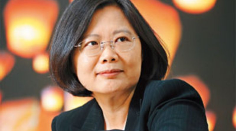 The intelligent, powerful, worldly, beautiful, and sophisticated Taiwanese President Cai Ying-wen