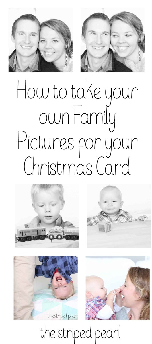 Photography Mini Series Part 8: How to Take Your Own Family Pictures for Your Christmas Card