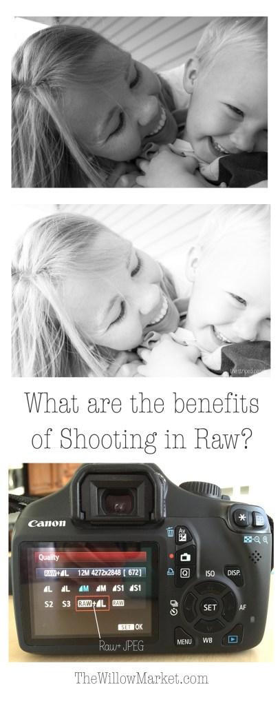 Why should I shoot in raw? What are the benefits of shooting in raw?