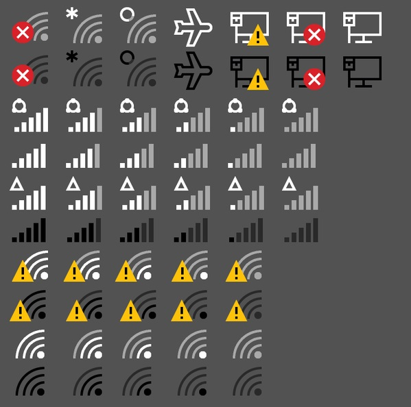 how to change the wifi icon on windows 10