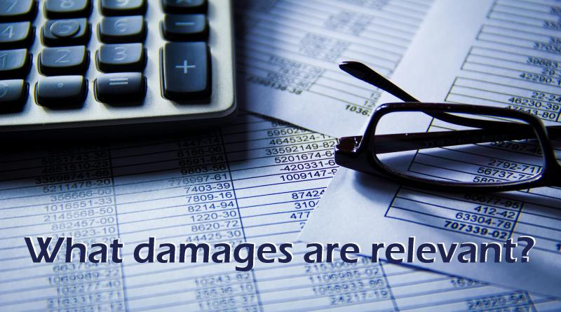 What damages are relevant