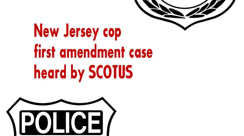 police first amendment case