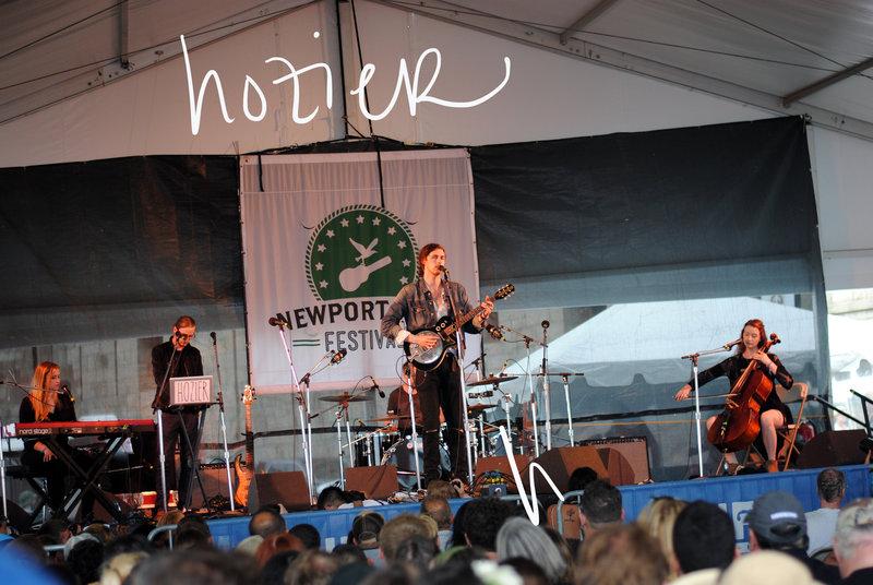 Newport Folk Fest 2014 HOZIER