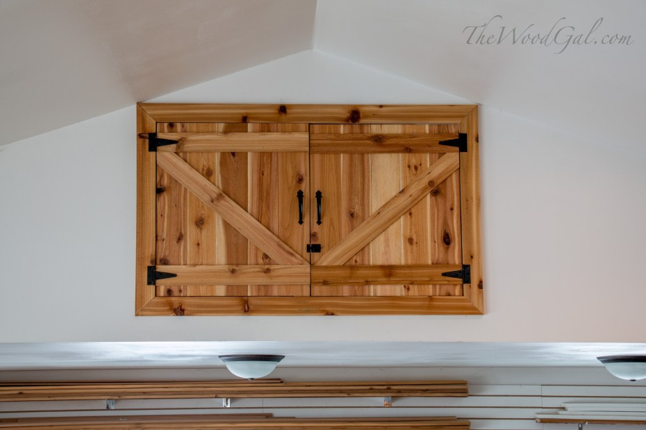 Loft Barn Door WM