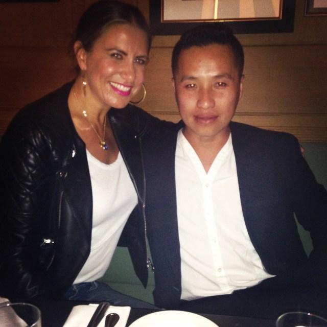Maria Tettamanti and Phillip Lim