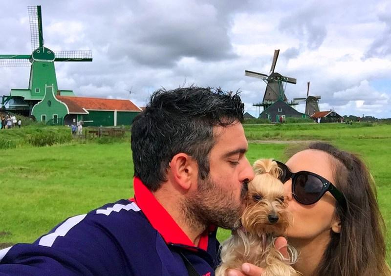 Amsterdam con perro