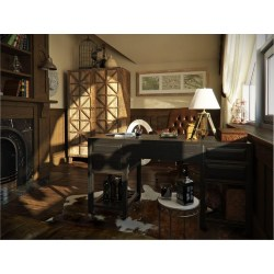 Small Crop Of Rustic Home Office