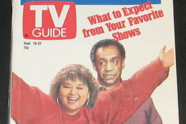 Flashback  Bill Cosby and Roseanne Had TV s Top Rated Shows for 2     roseanne barr bill cosby tv guide