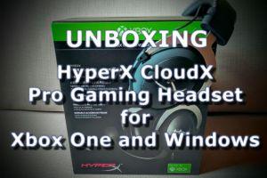 unboxing hyperx 3