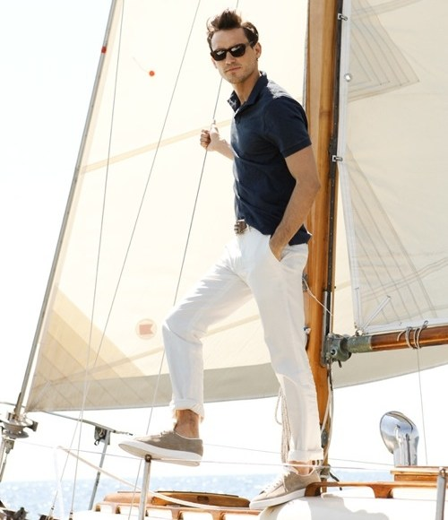 nautical mens wear chic style