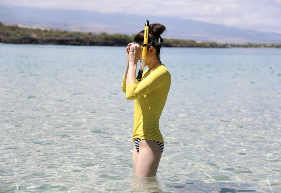 Yellow Snorkel 1a