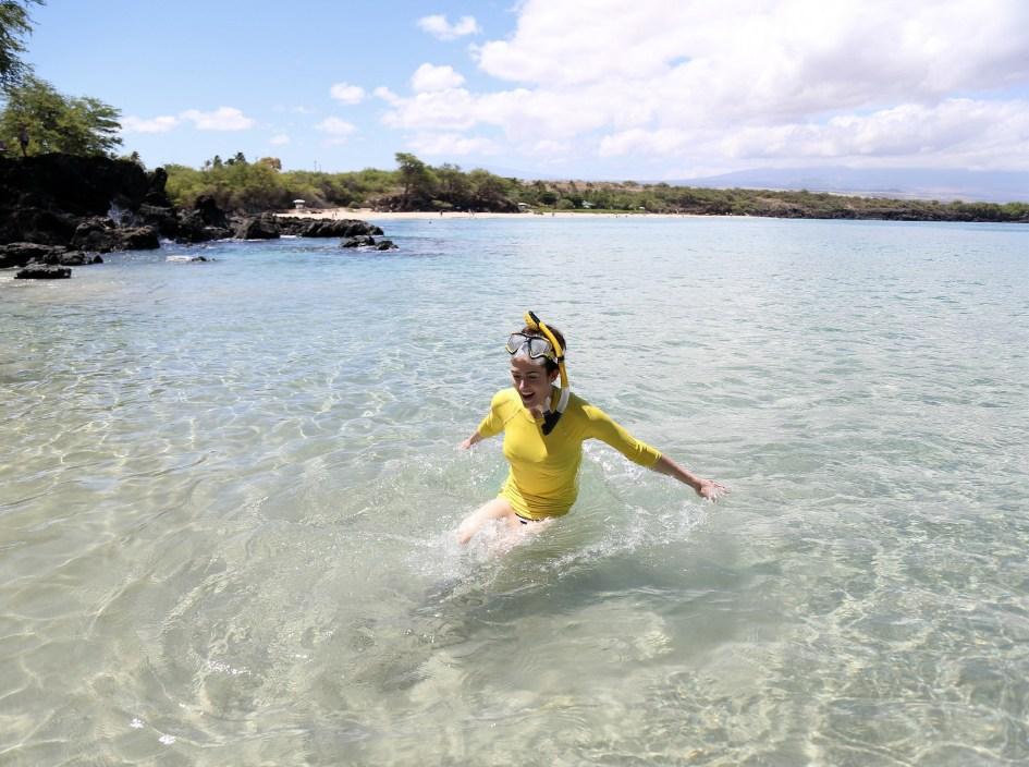 Yellow Snorkel 6b