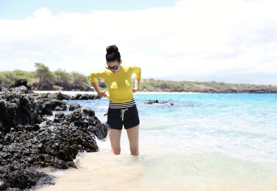 Yellow Snorkel 8a