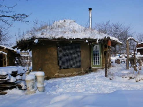 Cob House Cold Climate