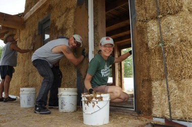 Straw Bale Workshop 2015