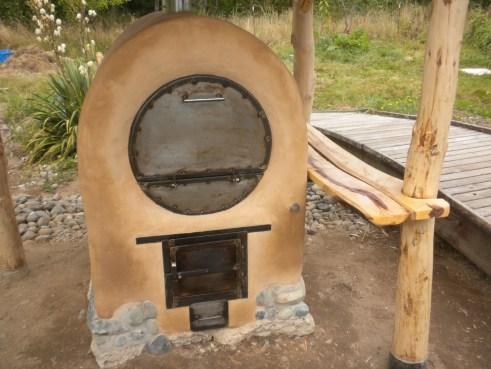 Outdoor Barrel Oven