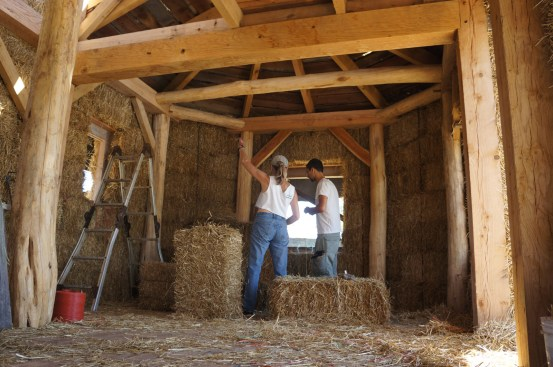 Straw Bale & Timber Frame House 02