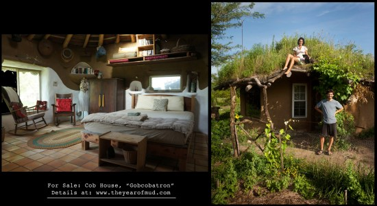 Cob House: Gobcobatron For Sale - The Year of Mud