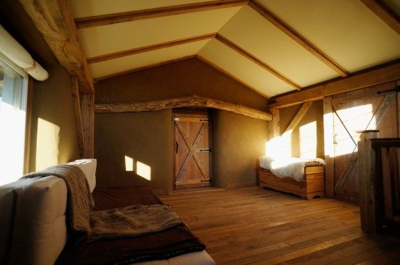 Straw Bale & Timber Frame Home