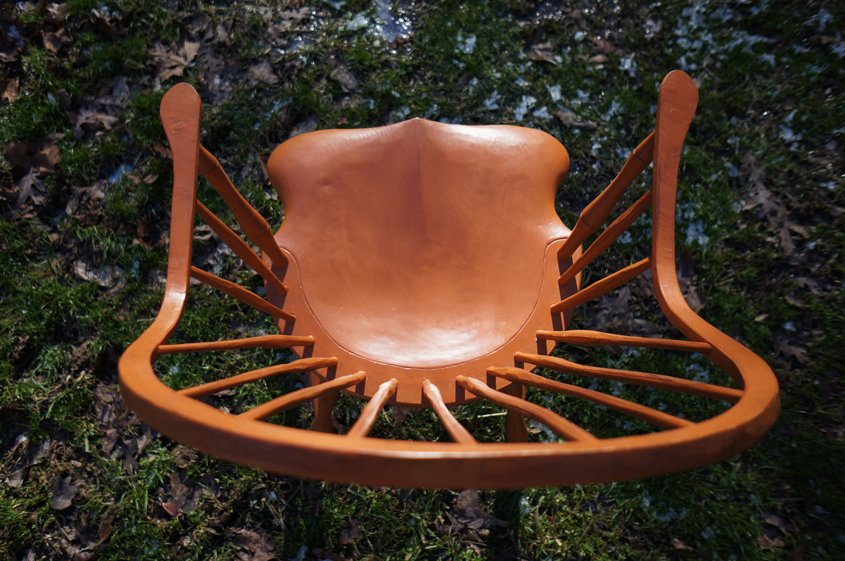 Continuous Arm Windsor Chair 05