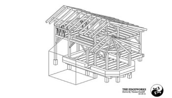 Free Small Timber Frame House Plans The Year Of Mud - Timber frame homes plans