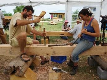 Timber Frame Workshop 2014