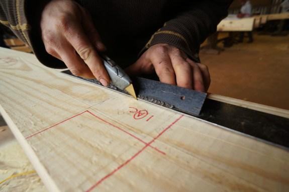 Scoring a Timber