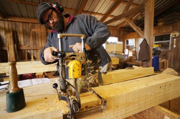Timber Framing Chain Mortising Machine