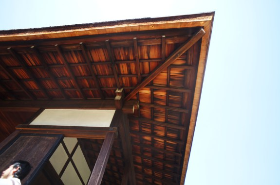 Japanese Porch Roof