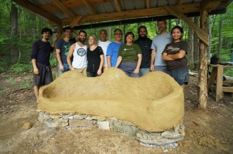 cob building workshop 2014