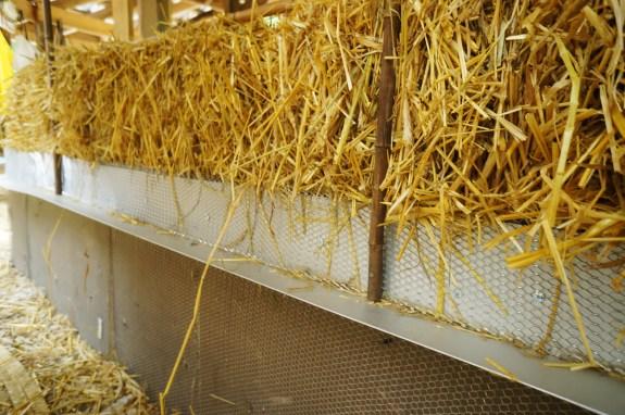 Straw Bale Plaster Stop Detail