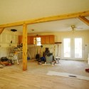 Replacing a 2×4 Wall with a Timber Frame