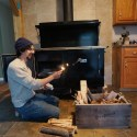 The Wood Cook Stove is In!