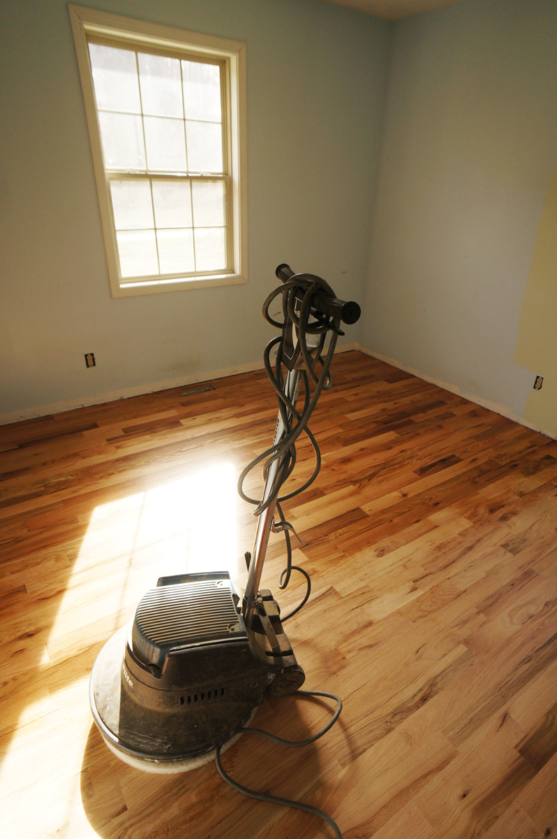 Buffing Floor With Rubio Monocoat