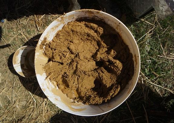 Base coat clay plaster recipe
