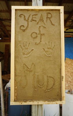 Clay Plaster Plywood