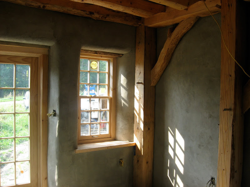 Natural building companion book review the year of mud for Timber frame straw bale house plans